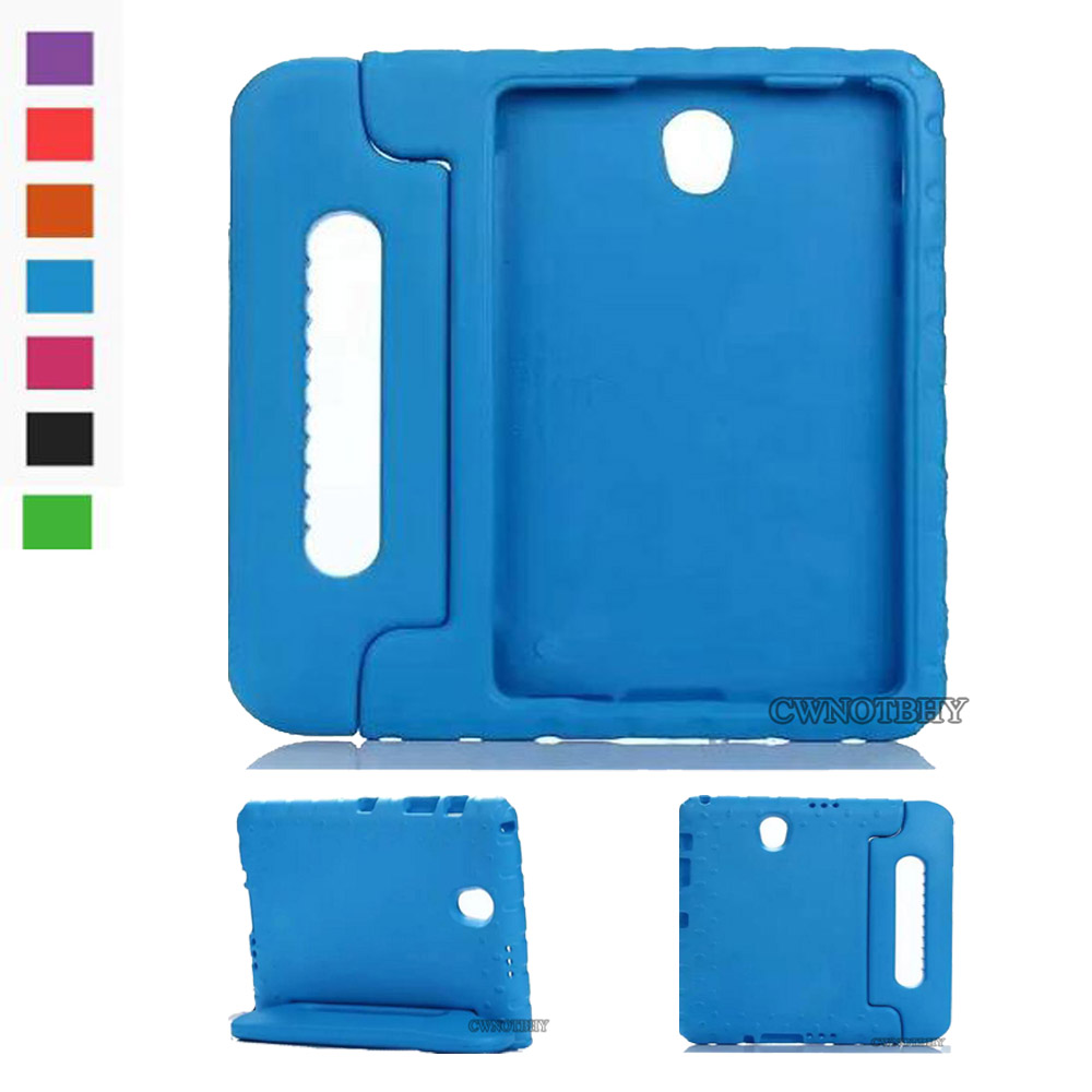 For Samsung Galaxy Tab S 8.4 T700 T705 Tablet Case Cover Non-Toxic EVA Foam Handle Stand Shockproof Kids Drop Resistance+stylus