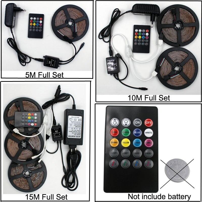 diodo adaptador wi fi controlador musica rgb led 05