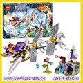 2016 bela 10413 hadas elfos aira pegasus trineo building blocks juguetes para niños juguetes de los ladrillos de regalo de las muchachas