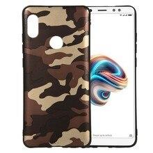 For Xiaomi Mi A2 Case Cover For xiaomi Mi A2 lite MiA2 6x back Cover camouflage Flexible silicone bumper Armor phone Case цена и фото
