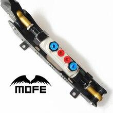 MOFE гидравлический гонки горизонтальный E-BAKE рычаг ручного тормоза DRIFT/с двумя насосами Регулируемый для BMW E46 E36 M3