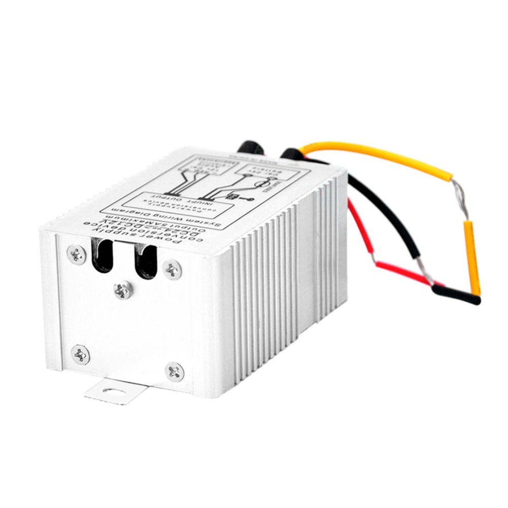 24V to 12V DC-DC Car Power Supply Inverter Converter Conversion Device Truck Lorry Battery Convert