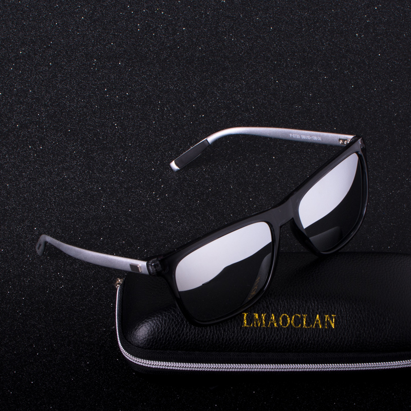 LMAOCLAN Značkový designér Hliníkový muž Ženy Polarizované sluneční brýle Mužské sluneční brýle Brýle