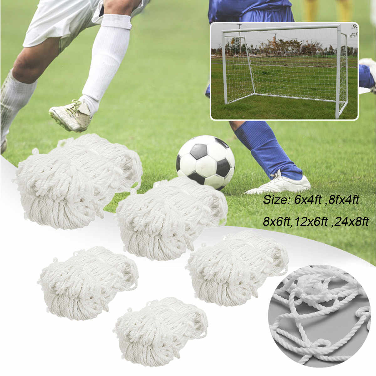 f399c667d Detail Feedback Questions about Football Soccer Net Soccer Goal Net  Football Goal Post Nets for Outdoor Soccer Match Training Match Adult Kids  on ...
