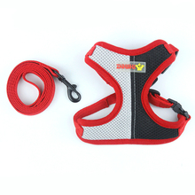 Fenice Dog Harness Vest Training for Pets Puppy Soft Mesh Pet Harness for Dogs Cats Small Medium Nylon Chest Strap Bulldog цена