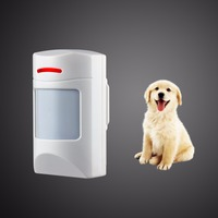 Wireless 433Mhz 315Mhz Pet Immune Motion PIR Detector For Home GSM Alarm System Security Anti Pet