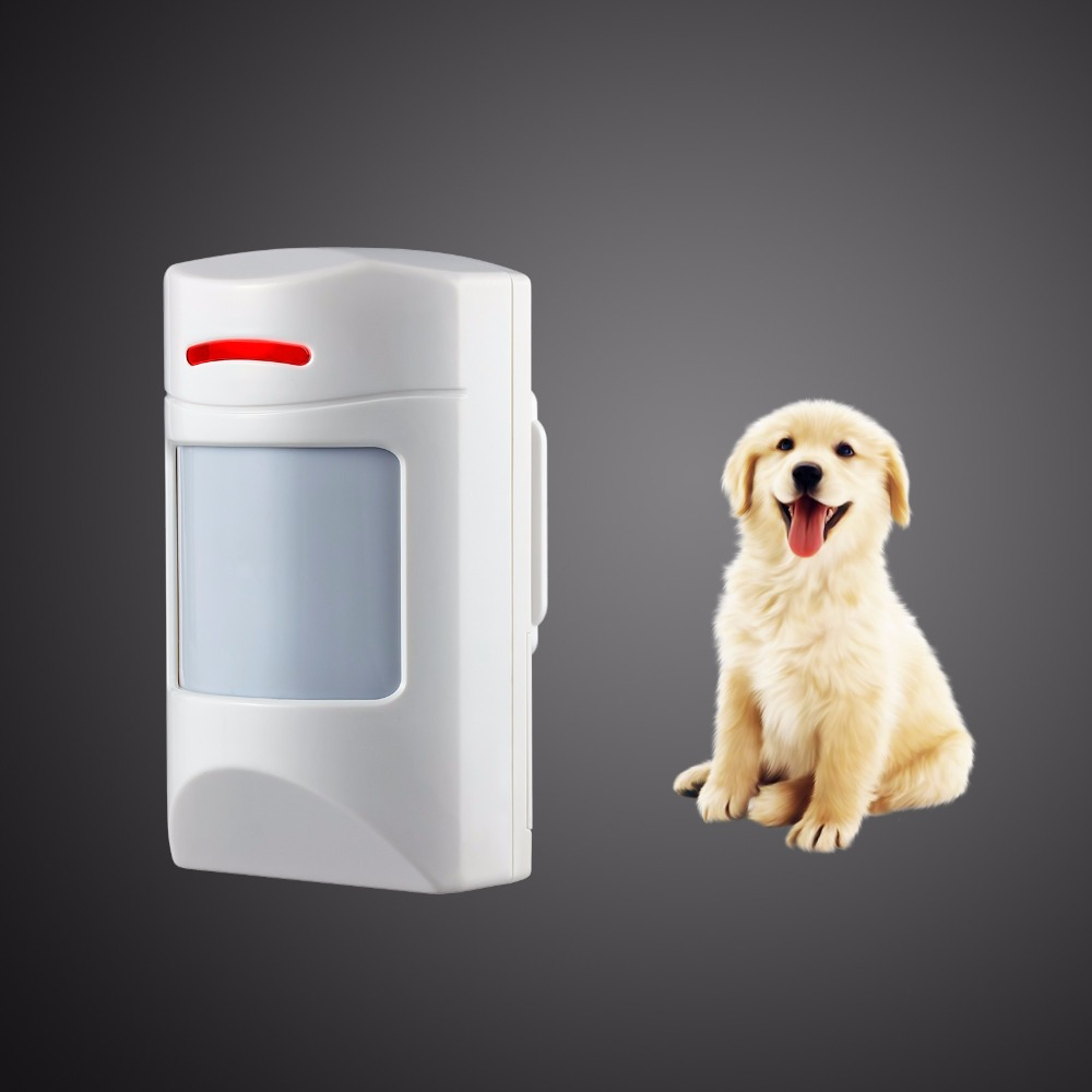 Wireless 433Mhz Pet Immune Motion PIR Detector For Security Home GSM Alarm System Security anti-pet immunity цена