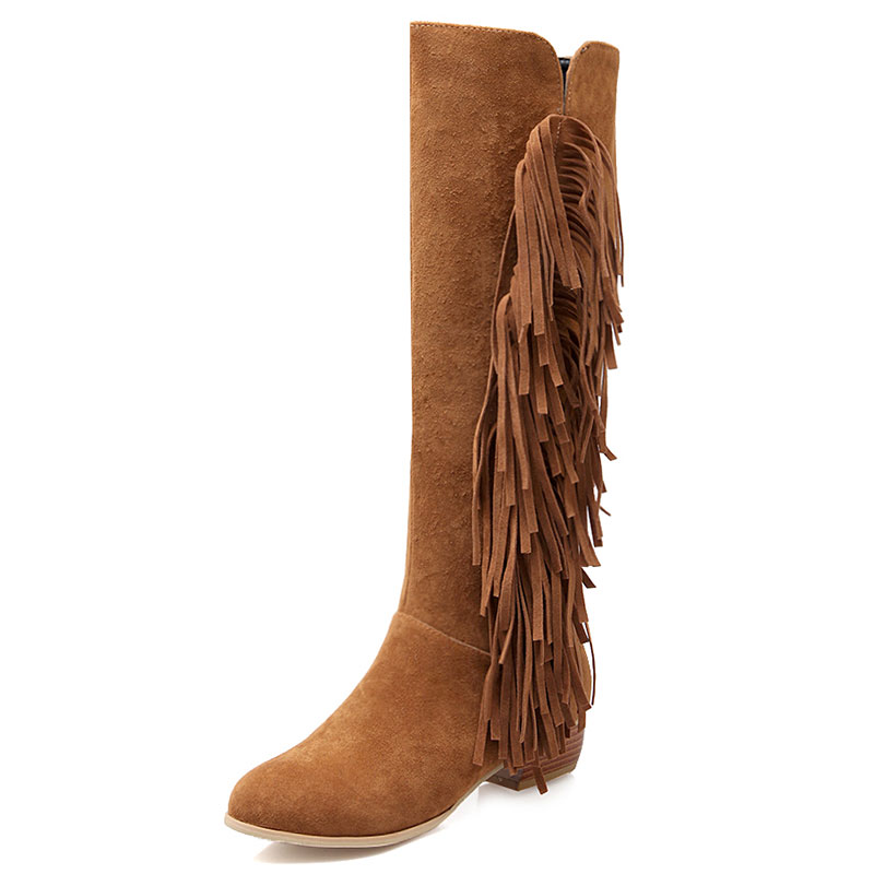 Online Get Cheap Tall Fringe Boots -Aliexpress.com | Alibaba Group