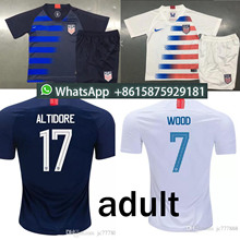 b1ce34a18 Adult suitThai quality 2018 2019 USA PULISIC Soccer Jersey 18 19 DEMPSEY  BRADLEY ALTIDORE WOOD America Football jerseys United S