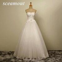 vestido de noiva sereia New Vintage Lace Beaded Floor Length A line Applique Sleeveless Berta Bridal Wedding Dress iltapuku