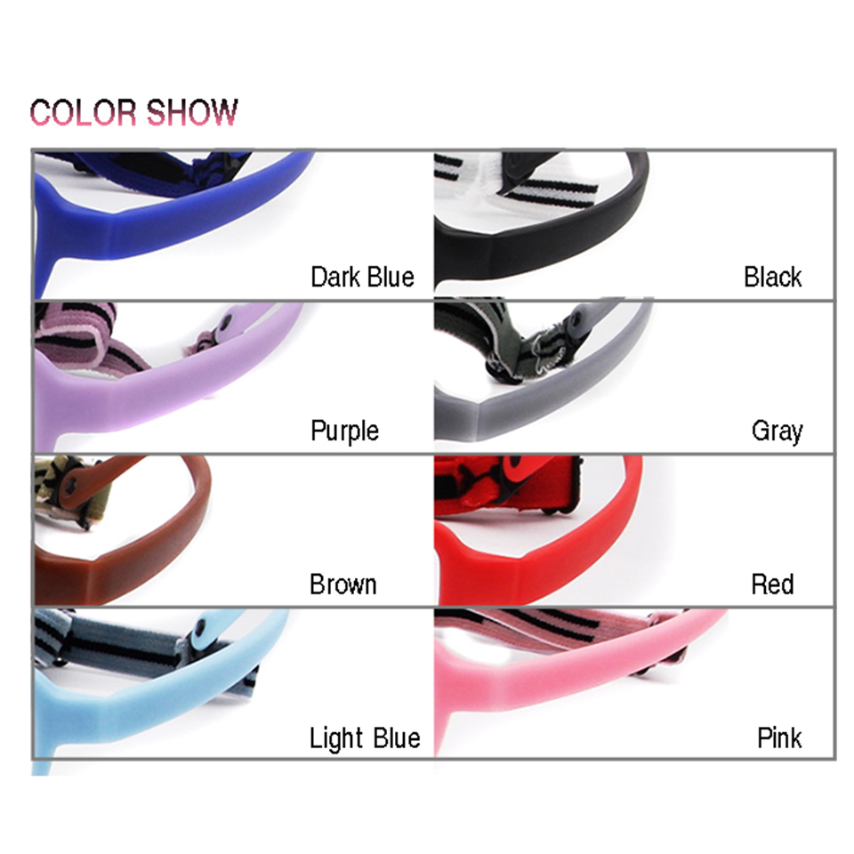 Apparel Accessories Men's Eyewear Frames Childens Optical Glasses Frame Boys Flexible Kids Glasses With Strap Fiber Screwless Eyewear Oval Unbreakable 10pcs
