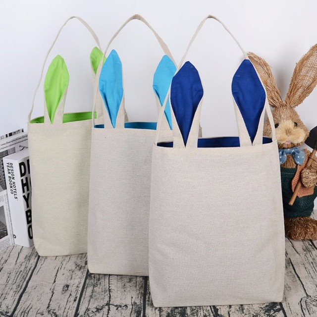 Easter decorations for home bunny ear gift bags funny cute storage easter decorations for home bunny ear gift bags funny cute storage bags rabbit birthday party supplies negle Image collections