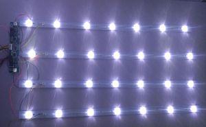 Image 4 - 24pcs החדש 32 אינץ 65 אינץ LCD טלוויזיה LED אור בר אוניברסלי LCD תאורה אחורית LED טלוויזיה אור מקל 650 ארוך 9 אורות