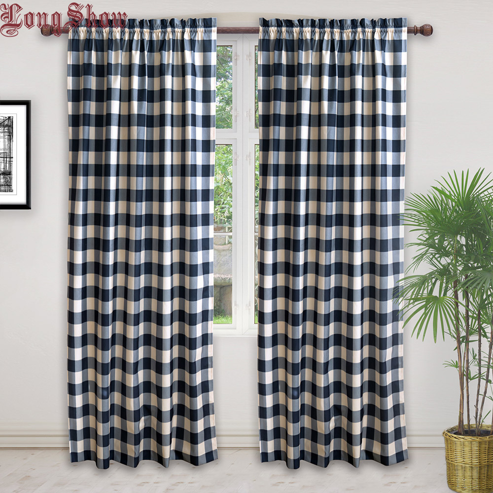 check MRP of blue colour curtains