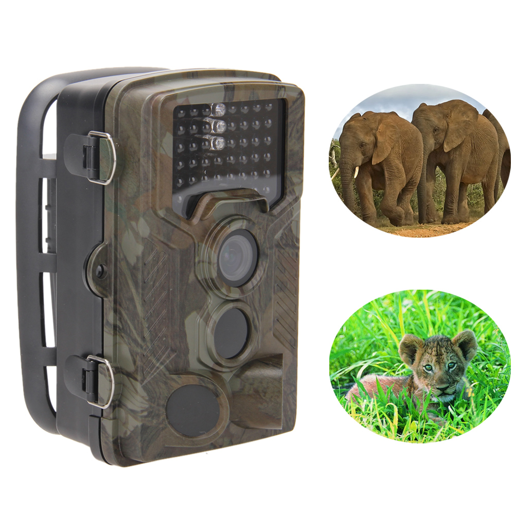 New 12MP HD Waterproof Wildlife Hunting Camera Trail Digital Scouting Infrared Camera Portable Night Vision Video Recorder ARE4 hd 1080p scouting hunting camera new hd digital night vision trail camera 2 4 inch screen ir hunter cam