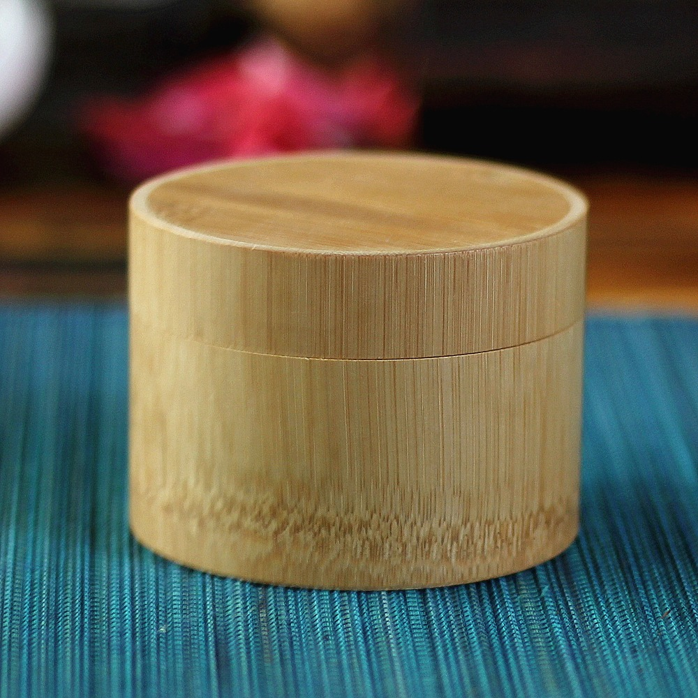 ୧ʕ ʔ୨Mini boîte à thé en bambou boîte De Rangement boîte à ...