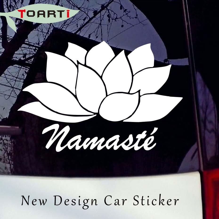 Om Namaste Yoga For Car Window Truck Laptop Vinyl Decal Sticker
