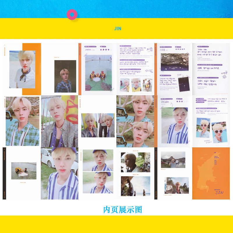 Kpop Bangtan Boys Jimin набор постеров фотостудий любовь себя ответ 2018 Saipan остров летний день селфи Suga V Jungkook