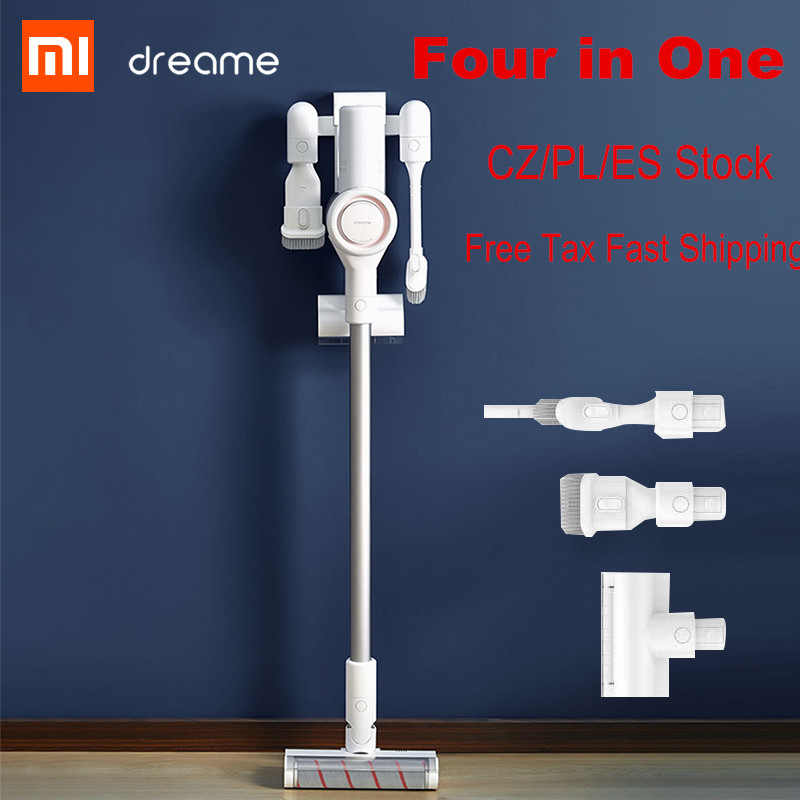 2019 xiaomi dreame v9 vacuum cleaner handheld wireless cyclone cordless stick cleaner for home. Black Bedroom Furniture Sets. Home Design Ideas