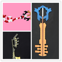 the Newest Kingdom Hearts 2 II key weapon EVA Model Toys Gift Toys For Kids Birthday  weapon movie replicas foam cosplay swords