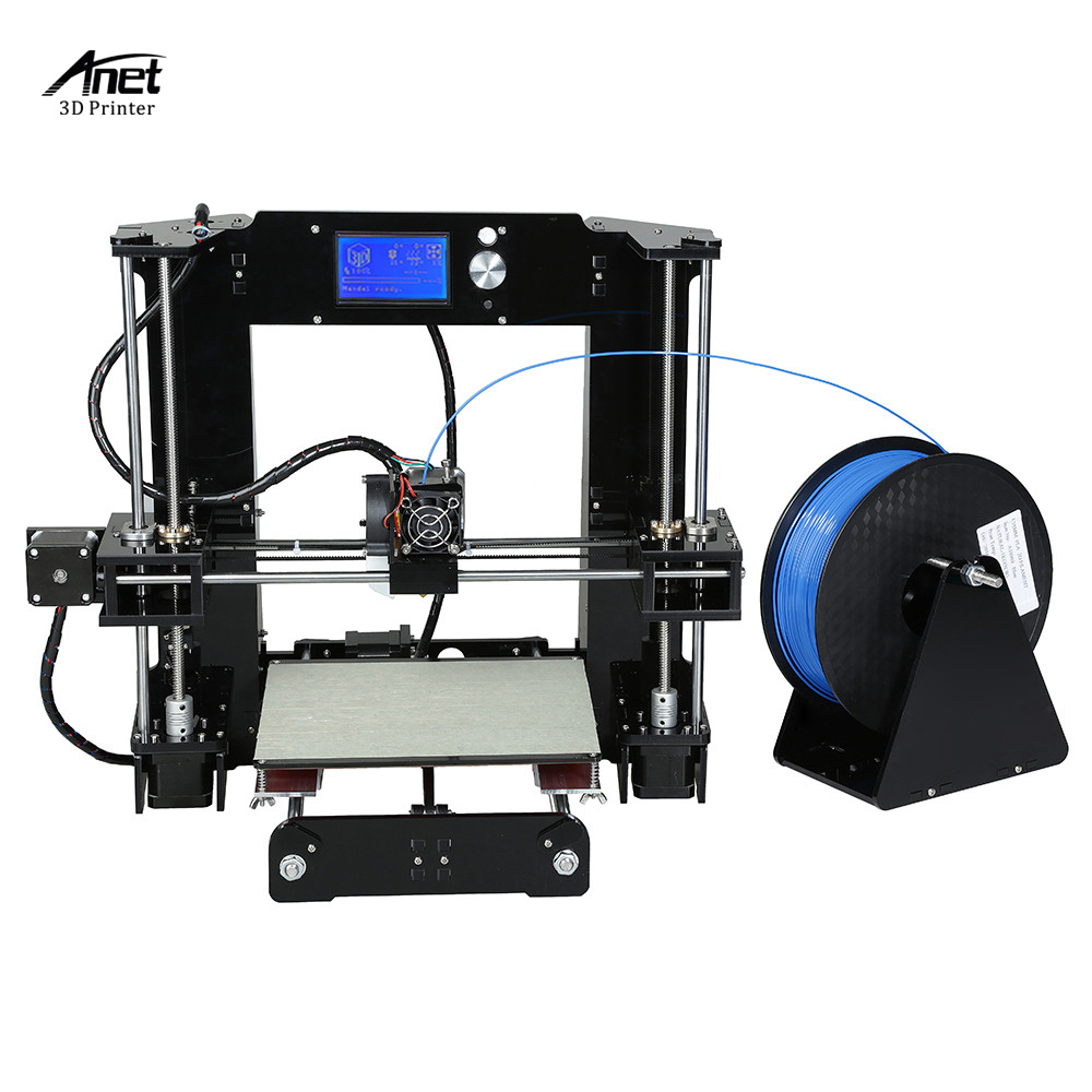 Image 2 - Easy Assemble Anet A6 Anet A8 3D Printer Kits  i3 Kit DIY Kits 3D Printing Machine with SD Card+Filament+Tools-in 3D Printers from Computer & Office