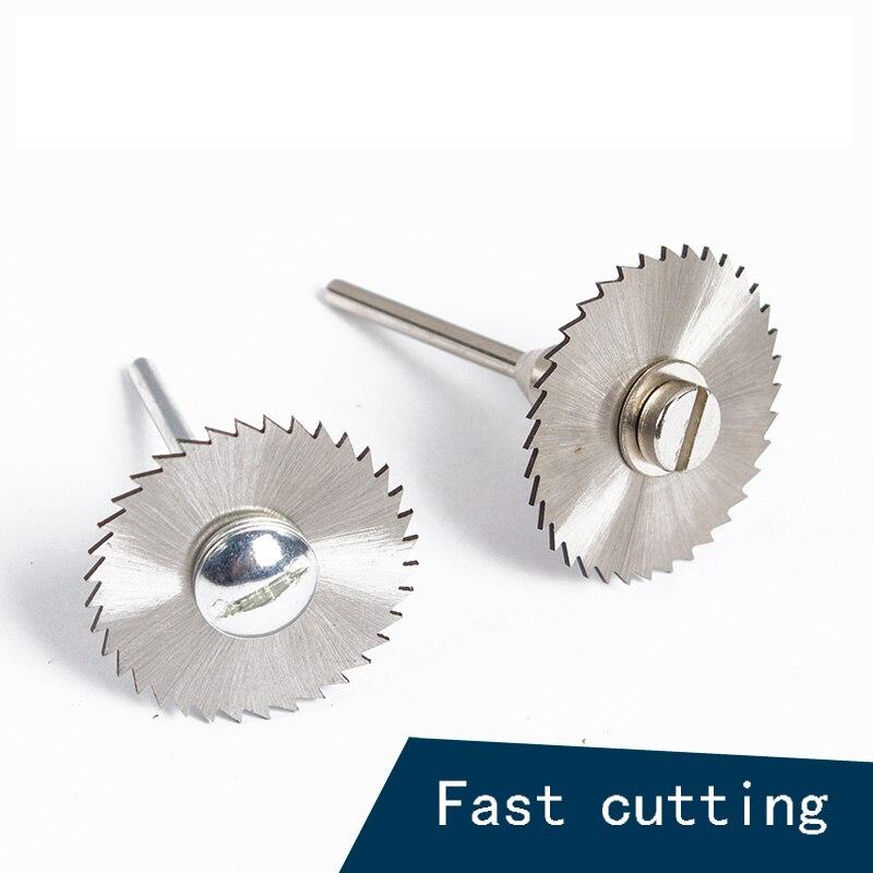 25MM*1 HSS Rotary Tools Circular Saw Blades Cutting Discs Set High Quality Drill Mandrel Cutoff Cutter Power Tools Multitool