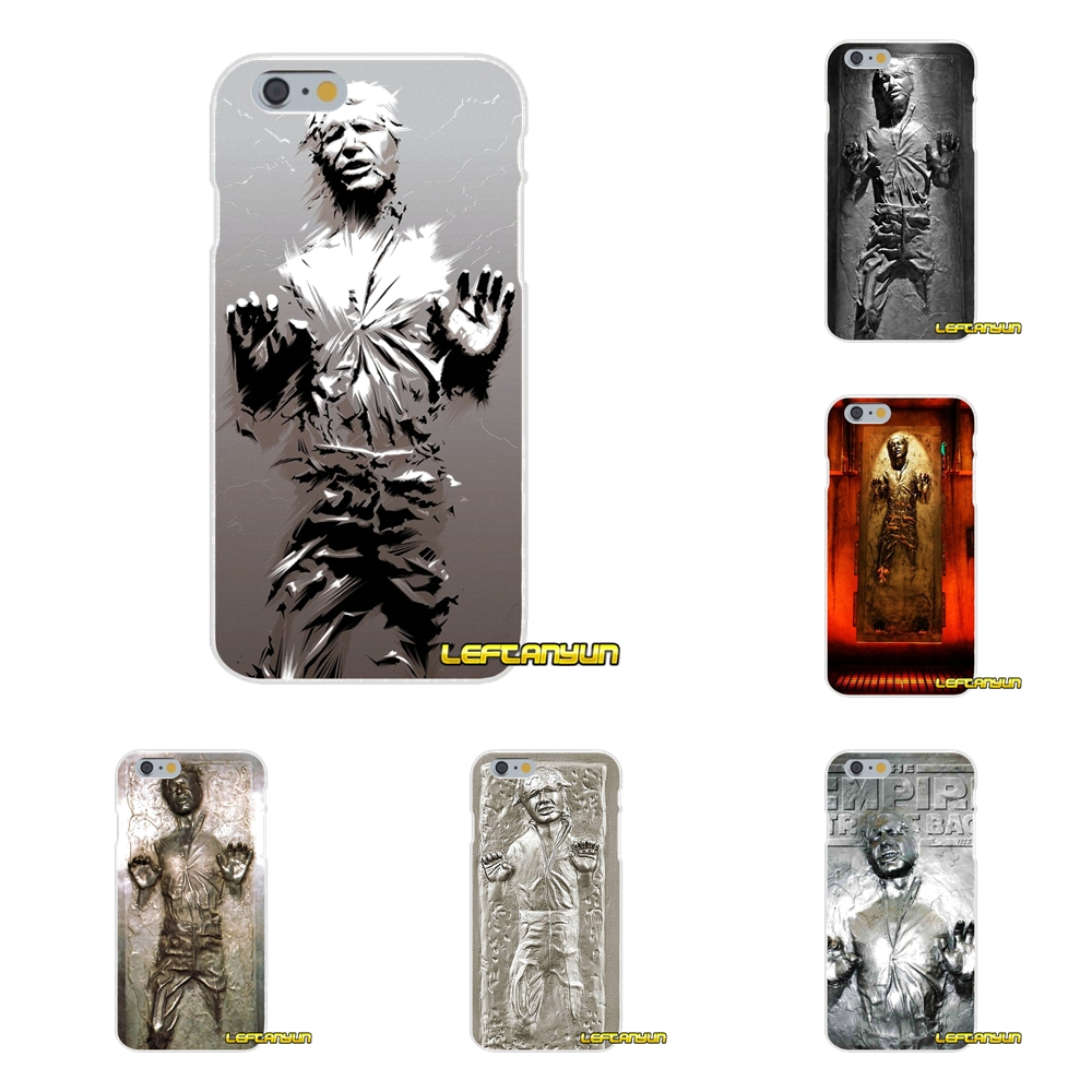 Star Wars Han Solo in Carbonite Soft Silicone phone Case For Samsung Galaxy S3 S4 S5 MINI S6 S7 edge S8 Plus Note 2 3 4 5 image