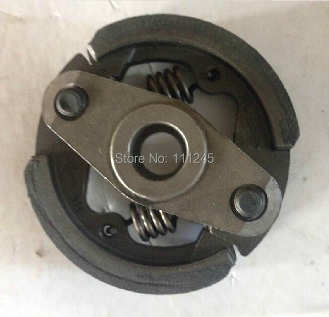CLUTCH  ASSY  POWDER METALLURGY  2 SHOES + 2 SPRING FOR HANGKAI 3.6HP 4 STROKE OUTBORAD FREE  SHIPPING  MOTOR PROPELLER PART free shipping hangkai 2 stroke 4 hp outboard engines crankshaft