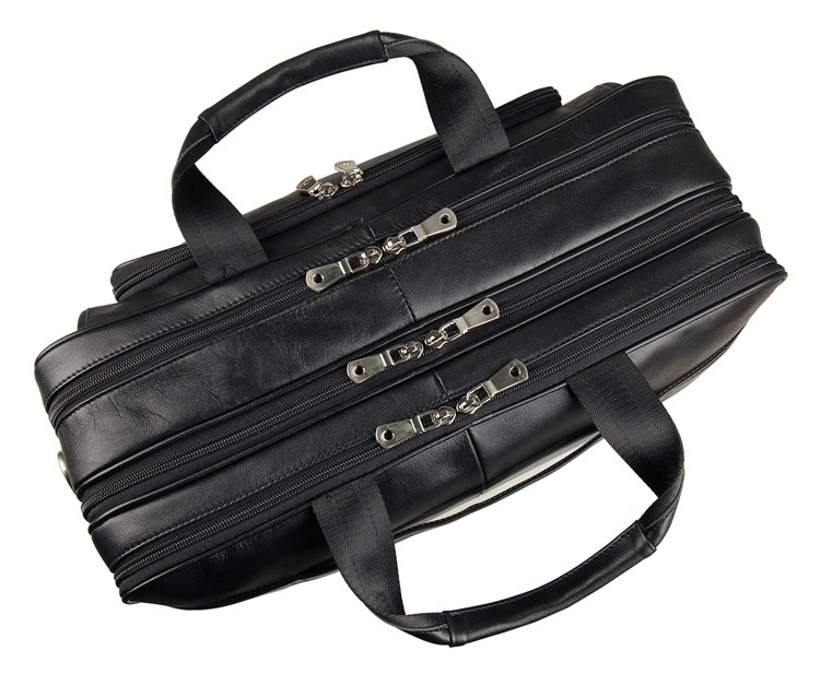 HTB1Pt6AeoGF3KVjSZFoq6zmpFXah MAHEU Vintage Leather Mens Briefcase With Pockets Cowhide Bag On Business Suitcase Crazy Horse Leather Laptop Bags 2019 Design