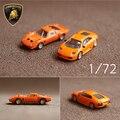1 unids automobili s. p. a gallardo miura super coches orange clásica 1: 72 diecast coche de metal niño los juguetes en miniatura modelo de colección de regalo