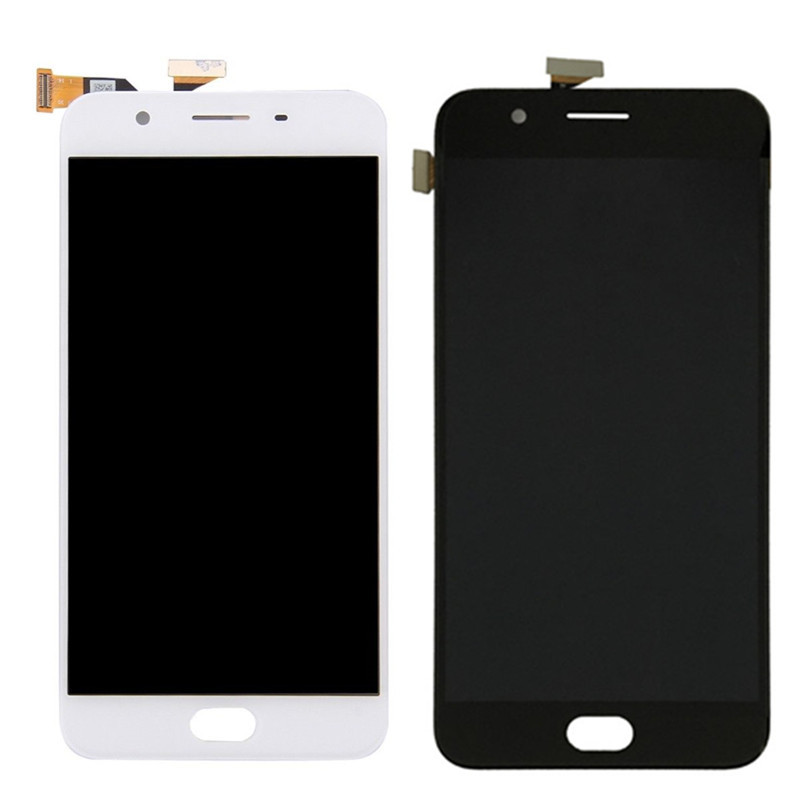 For <font><b>OPPO</b></font> F1S Full LCD Display + Touch Screen Digitizer Assembly Replacement Parts For <font><b>OPPO</b></font> A59 <font><b>A1601</b></font> Mobile Phone LCD image