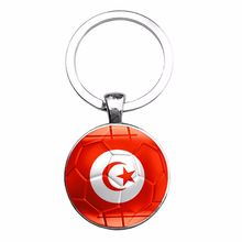 Football National Flag Key Chain for Fans Panama Costa Rica Morocco Mexico Nigeria Senegal Tunisia Key Chain Customized Jewelry путь к себе