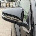 2014-2017 Espelho Cromado Capa Espelho Guarnição Da Porta Para Toyota Highlander Acessórios