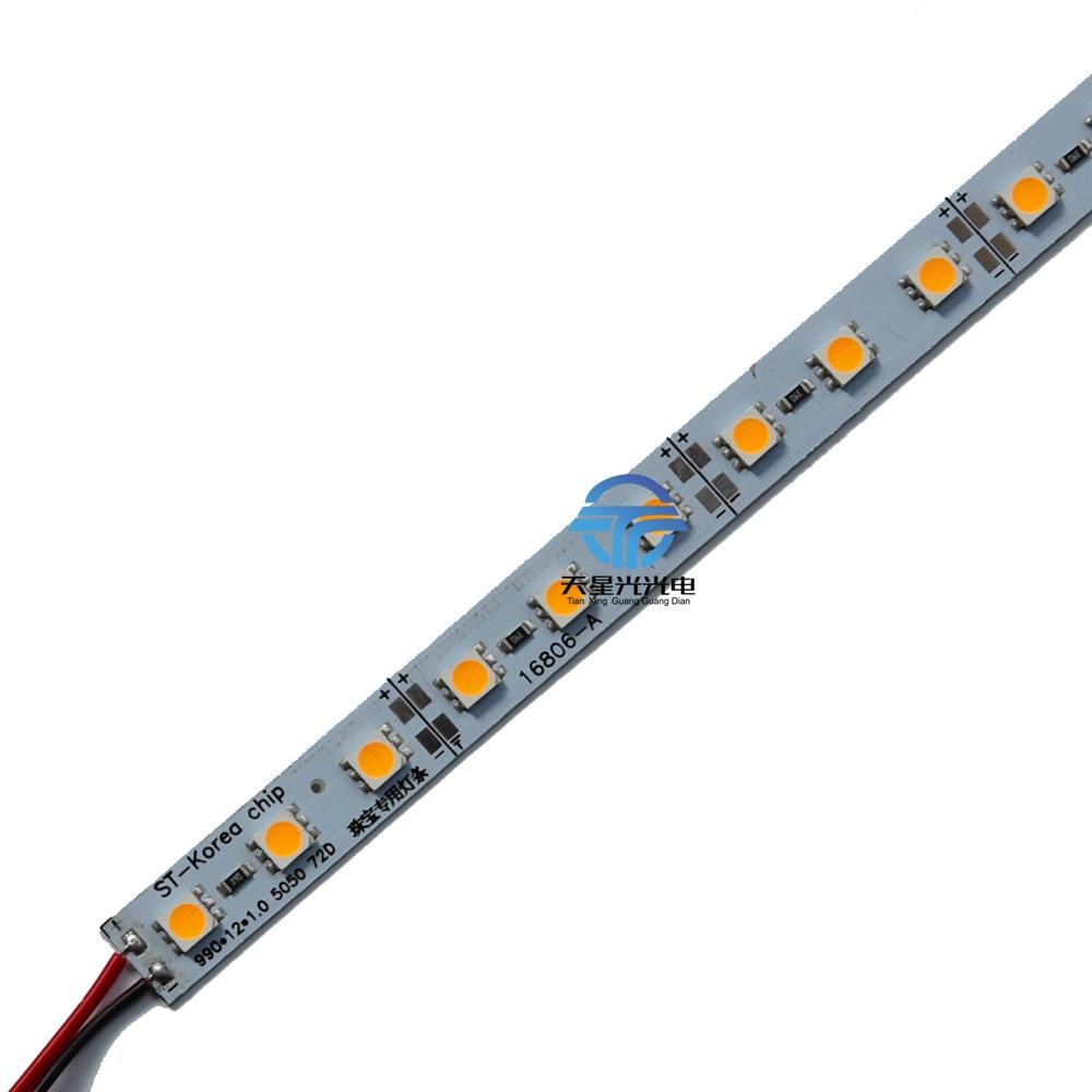 TXG 100ks / lot 14.4W 5050 72l / m tvrdé tuhé barové světlo super - LED Osvětlení