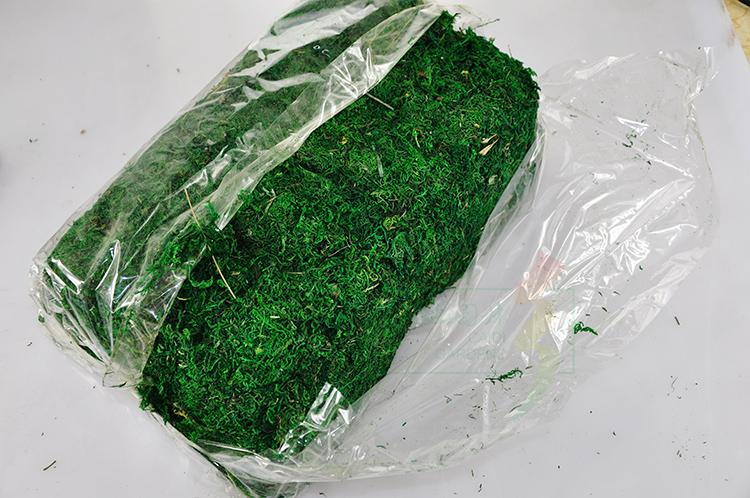 Image 4 - Natural 50g 100g bag dry real green moss decorative plants vase artificial turf silk Flower accessories for flowerpot decoration-in Artificial & Dried Flowers from Home & Garden