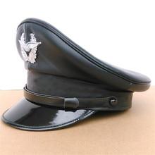 Niemcy oficer czapka z daszkiem kapelusz wojskowy korowe czapki wojskowe czapka policyjna cosplay prezenty na halloween i boże narodzenie wiosna festiwal nowy rok