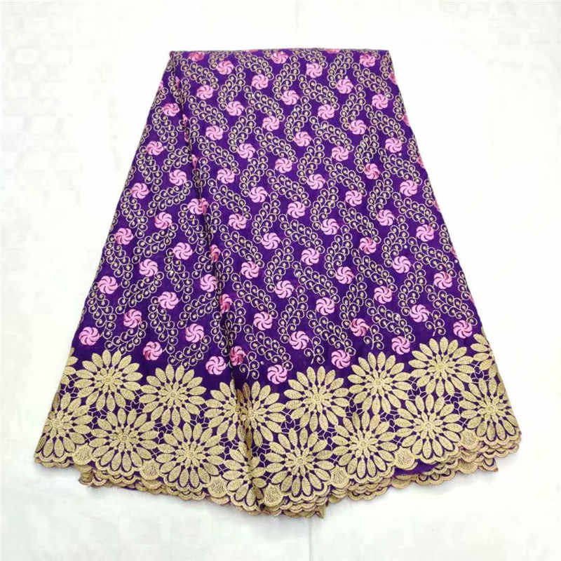 New african lace fabric African swiss voile lace high quality nigerian african lace fabric 2019 high quality lace ly1-644