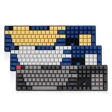 Топ печатных dsa клавишные колпачки из ПБТ для механической клавиатуры 108 клавишей iso полный набор dolch keycaps keys corsair bfilco minila