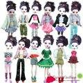 10 itens = roupas vestido outwear para monster high bonecas e bratz boneca