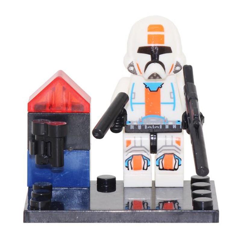 Best Gift Star Wars The Last Jedi Yoda Obi-Wan Darth Vader Building Blocks Kids Toys Starwars LEGOINGlYS Figures Single Sale