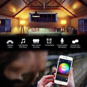 Image 4 - 1M 2M 3M 5M 10M 15M Draadloze Telefoon Controle Wifi Led Strip Werkt Met amazon Alexa Google Home Iffft Smd 5050 12V Rgb Tape Lint