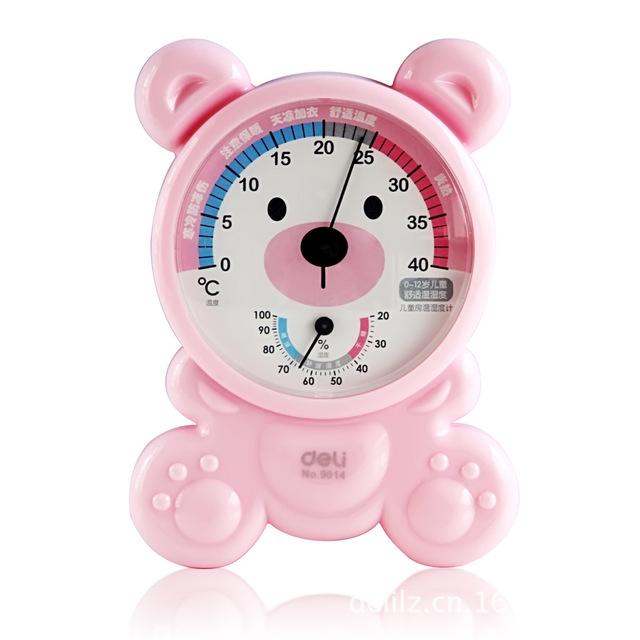 Capaz termómetro higrómetro temperatura interior y medidor de humedad del sitio de niños ovulación digital thermomete ovulationstest