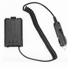 Baofeng UV-5R Battery Eliminator Car Charger UV 5R Portable Radio Car Charge UV-5RE UV-5RA Walkie Talkie Car Radio Adapter 12 24v 2a usb charger cable cord for baofeng uv 5r uv 5ra uv 5rb uv 5re radio rf