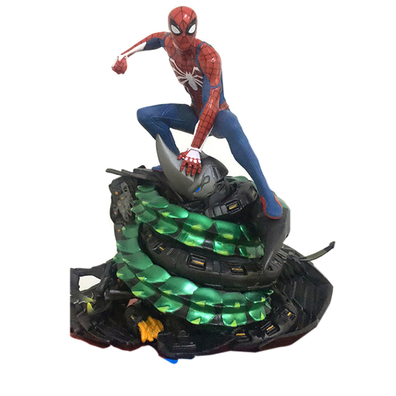 Game PS4 Marvel Spiderman Super Hero Cool Figure Model Toys Birthday Gifts