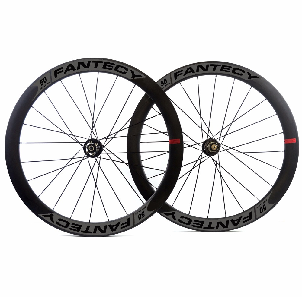 700C 50mm depth road disc brake carbon wheelset 25mm width Clincher/Tubular Disc Cyclocross Bicycle carbon wheels UD matte finsh цена