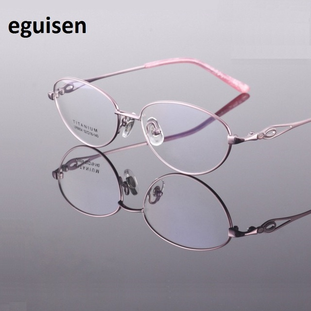 52-18-140 new titanium plating IP ultra light frame does not fade comfortable semi rimless frames  8854 Ms.optical glasses frame