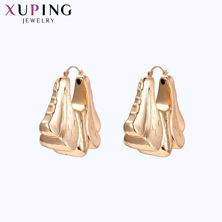11,11 сделок Xuping мода замок Форма серьги для Для женщин девушки темперамент День Матери вечерние изделия подарки S28-96897