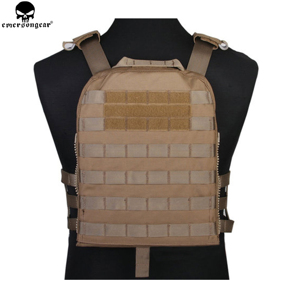 EMERSONGEAR Tactical Vest CP Style Lightweight AVS Vest Airsoft Combat Paintball Hunting Molle Plate Carrier Vest