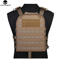 EMERSONGEAR Tactical Vest CP Style Lightweight AVS Vest Airsoft Combat Paintball Hunting Molle Plate Carrier Vest EM7398