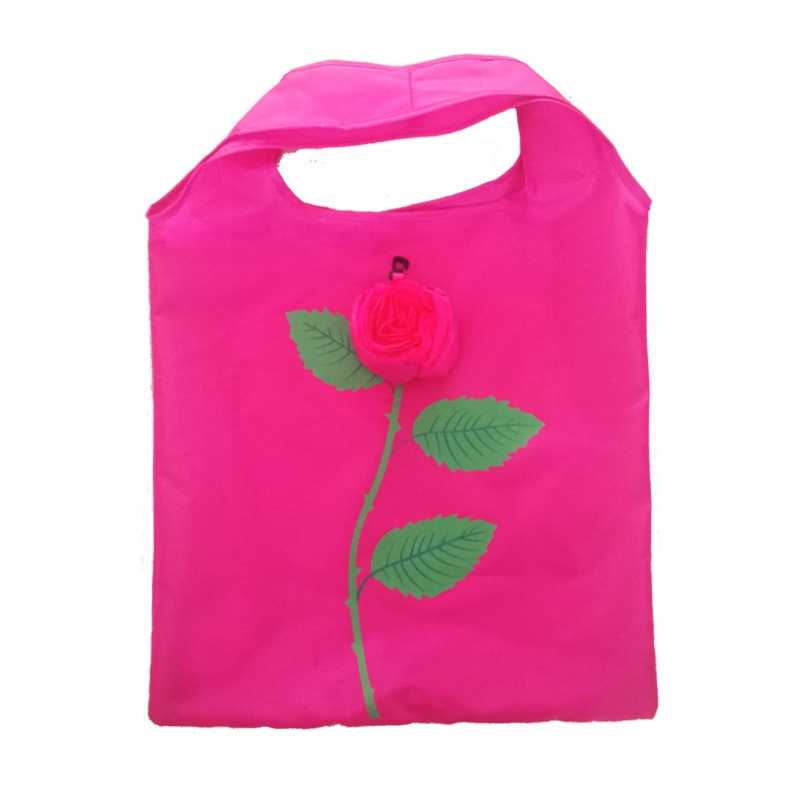 bfe6484d6d Reusable Portable Shopping Bag Eco-friendly Shoulder Handbag Shopping Bags  Foldable Grocery Tote Supermarket Bag
